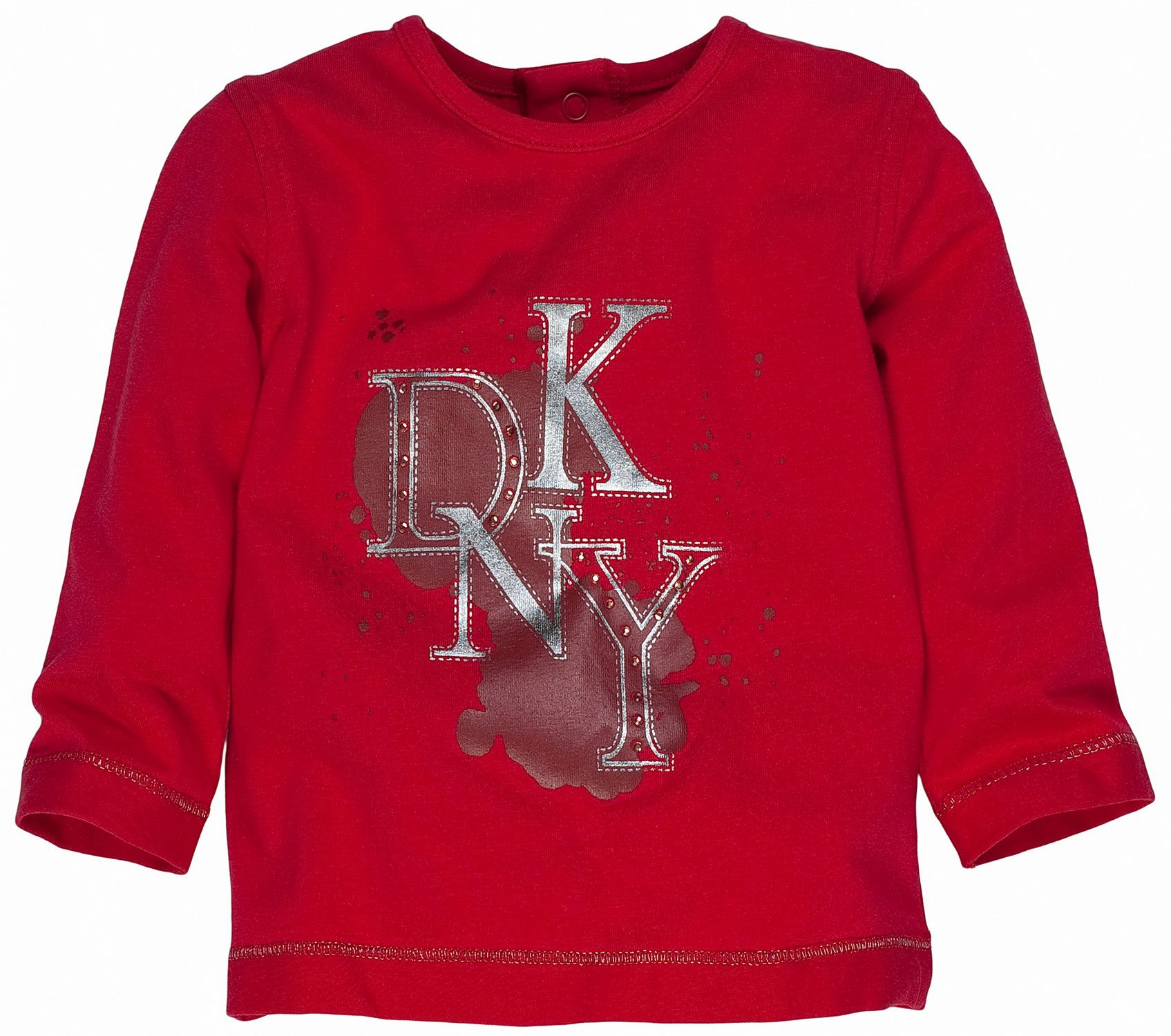 DKNY Childrens DKNY Long sleeved T-Shirt, Red product image