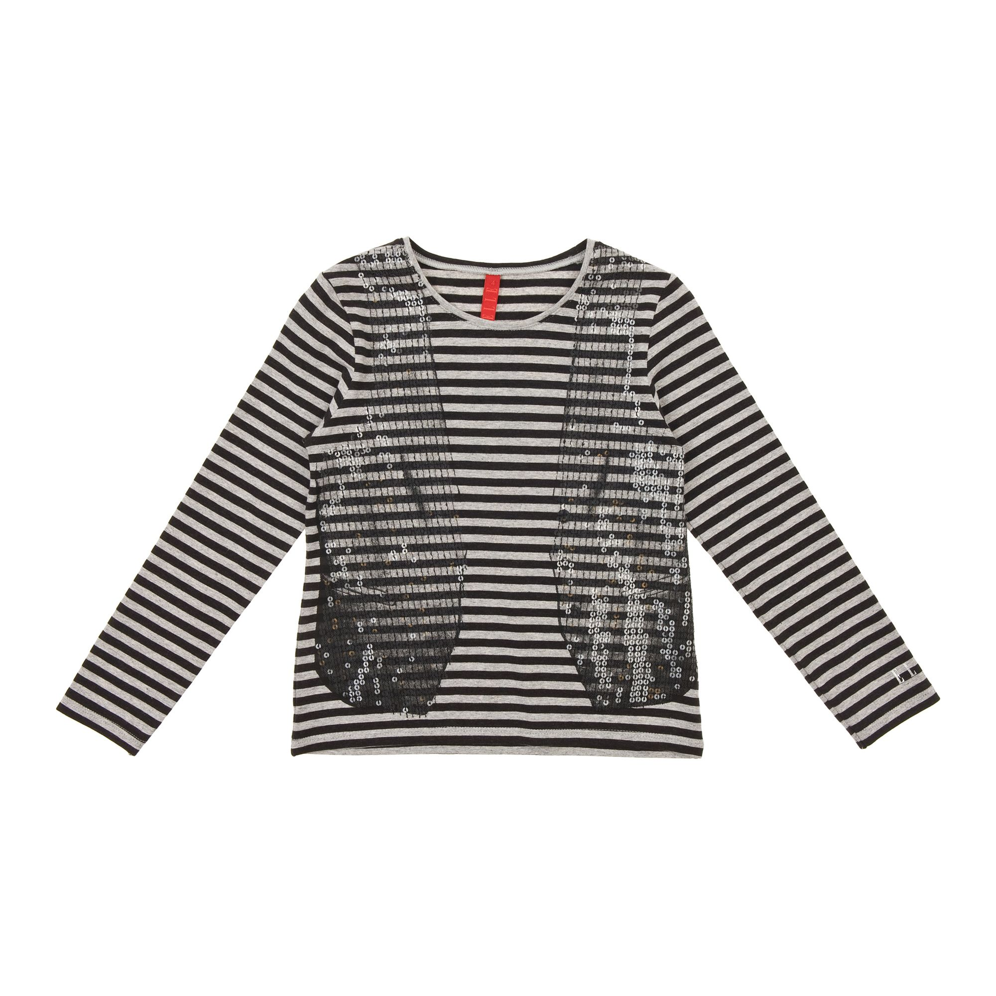 Elle Childrens Elle Long sleeved t-shirt, Black product image