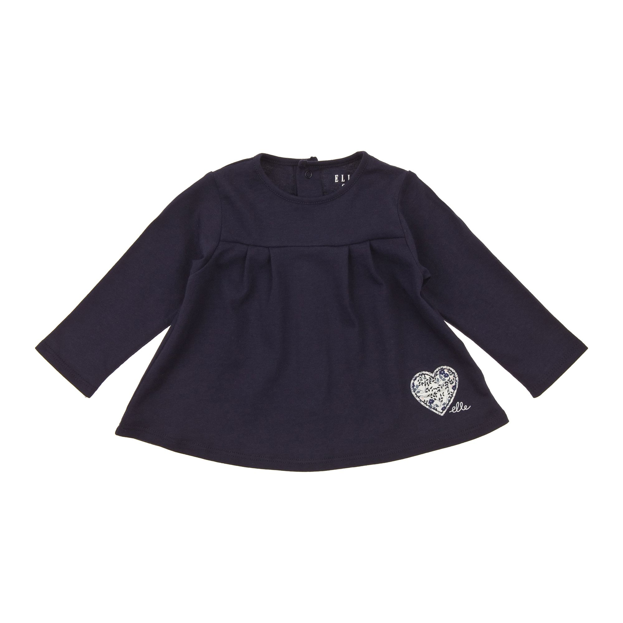 Elle Childrens Elle Long sleeved t-shirt, Navy product image