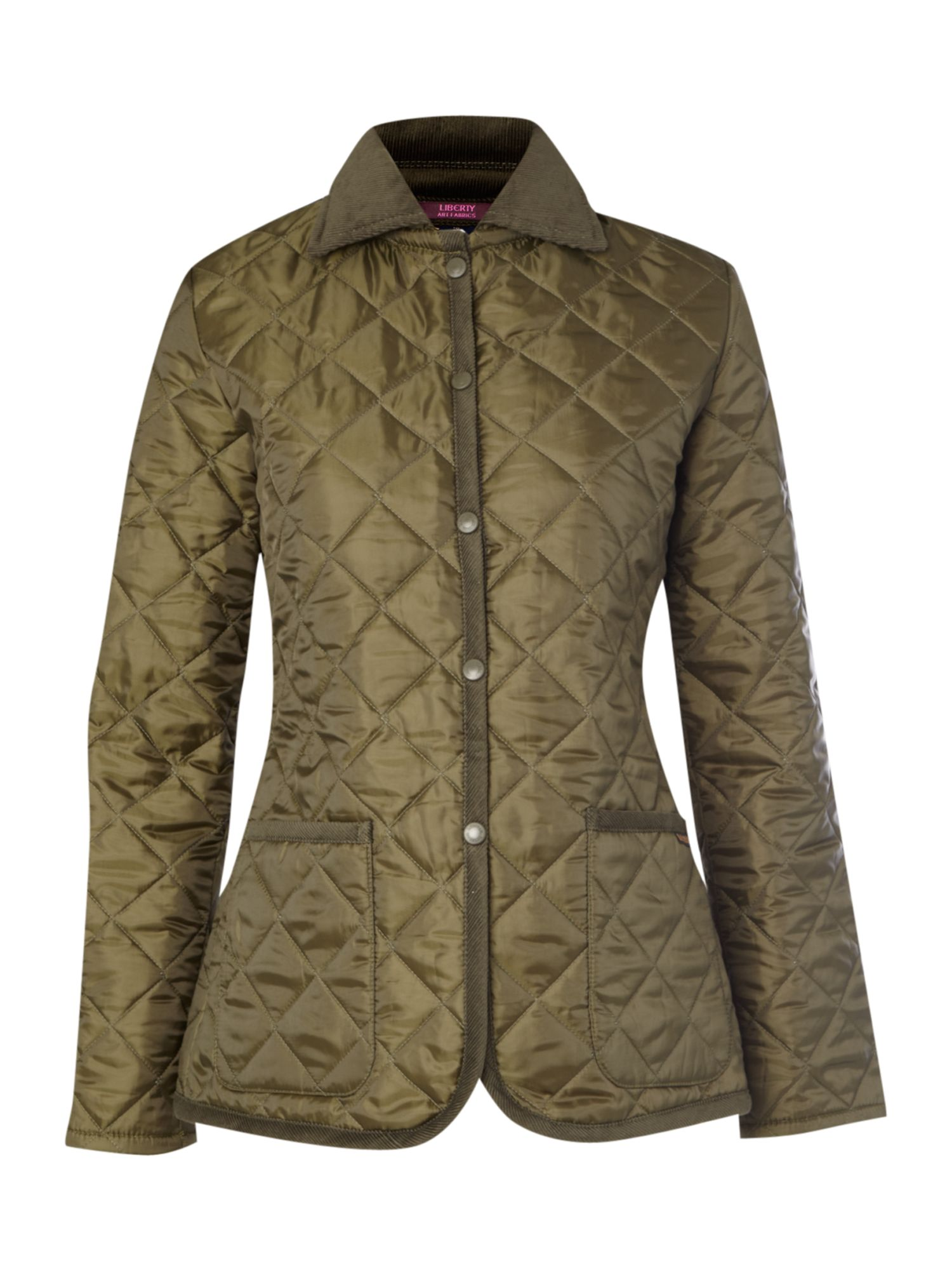 Padded jacket with liberty print