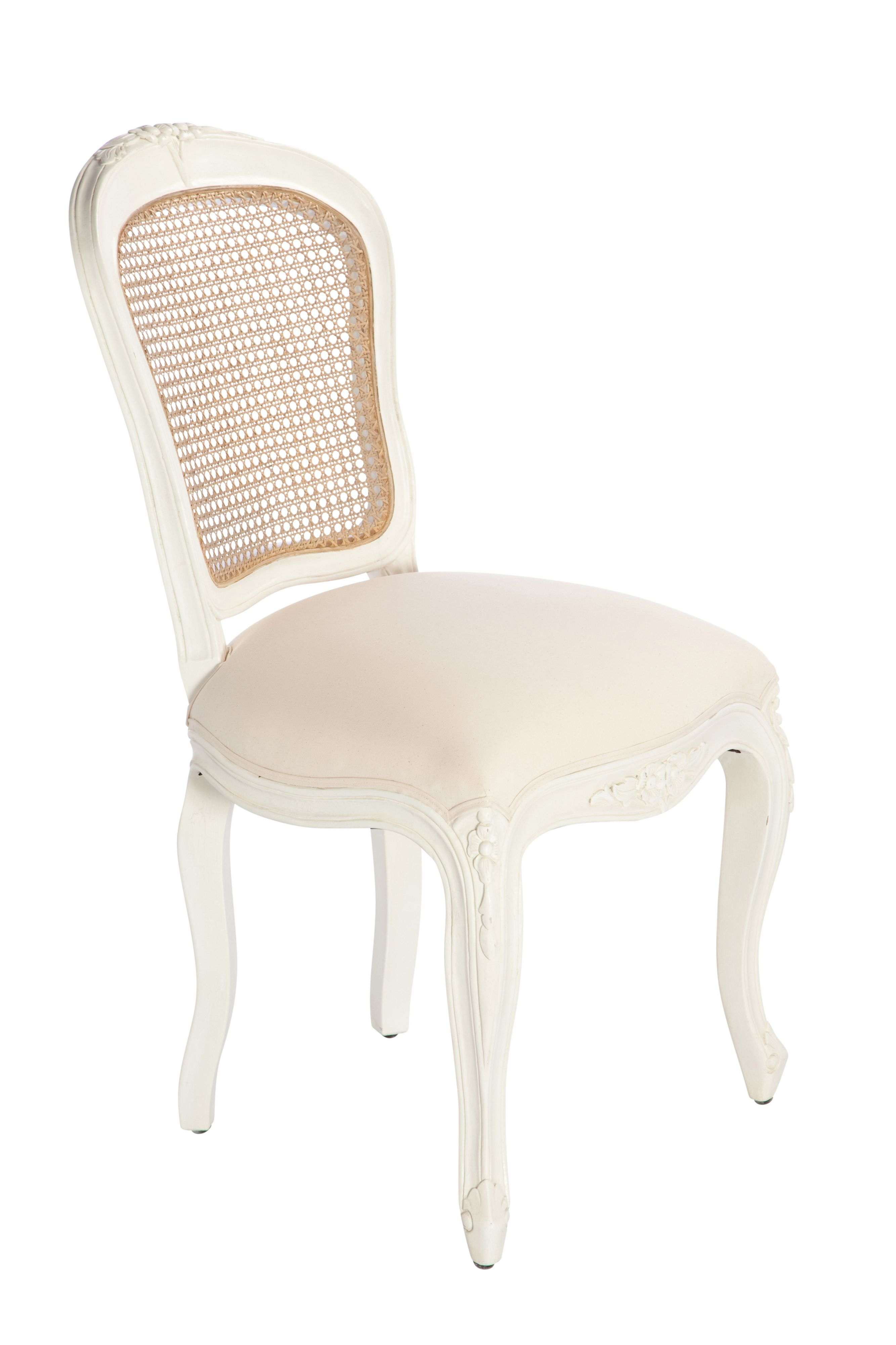 Willow dining chair pair