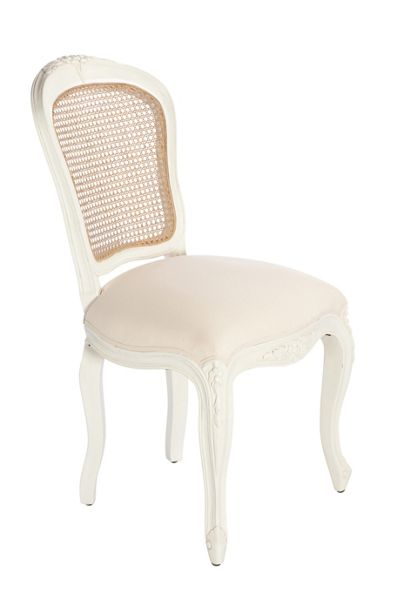 Shabby Chic Camilla dining chair pair