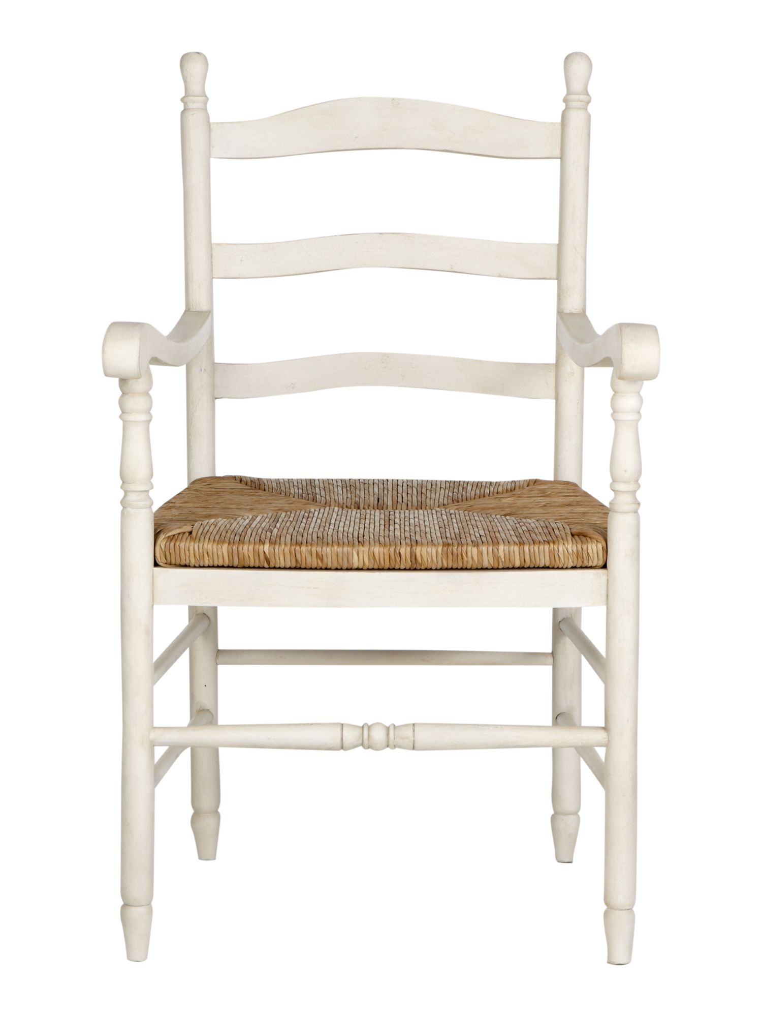 Willow wicker carver chair pair