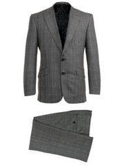 Alexandre Savile Row Check Half Canvas Suit