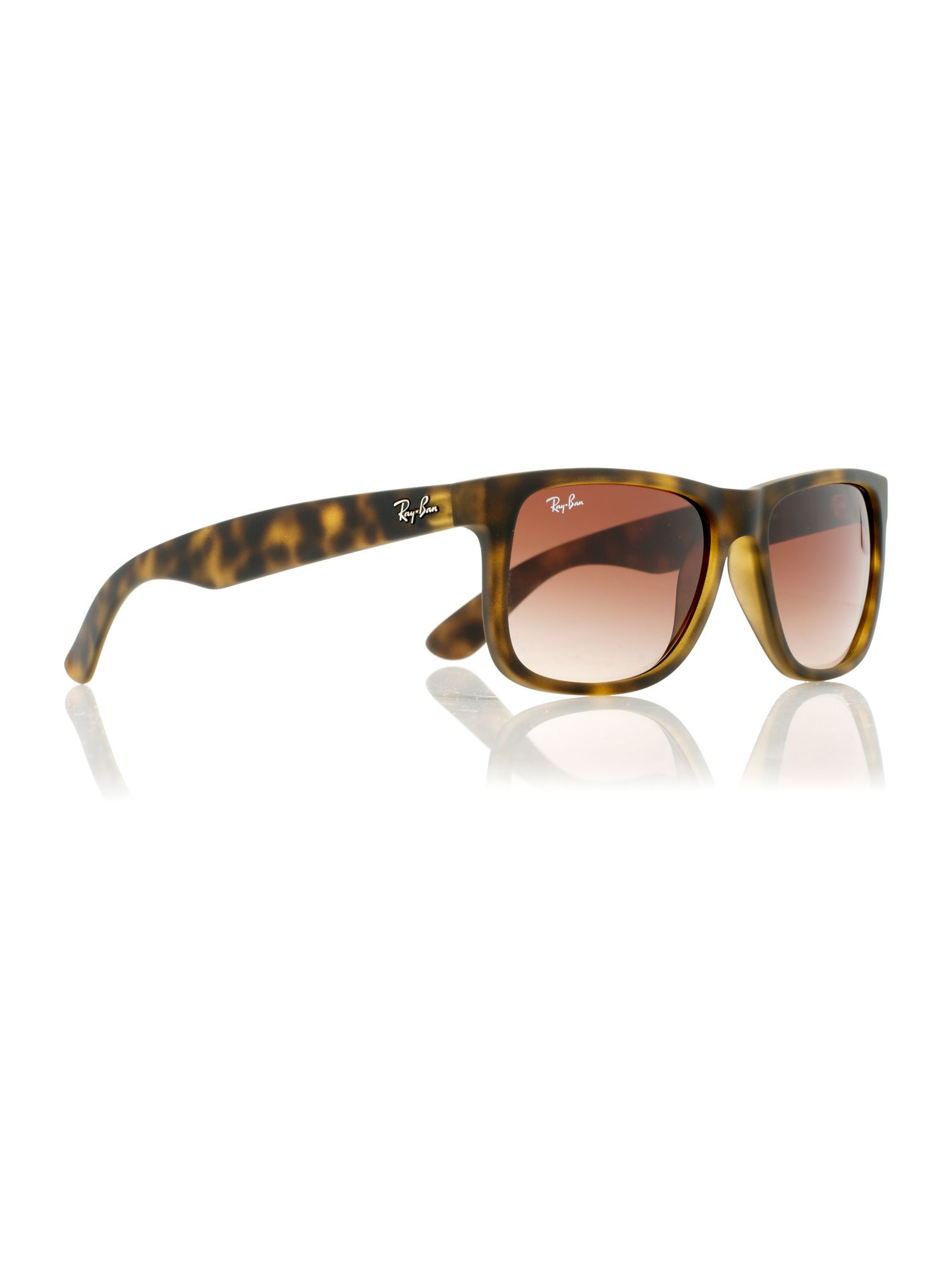 Unisex RB4165 Justin rectangle sunglasses