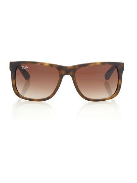 Ray-Ban Unisex RB4165 Justin rectangle sunglasses