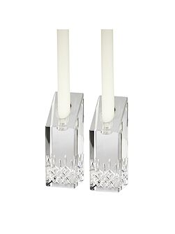 Waterford Lismore essence candlesticks 15cm, set of 2