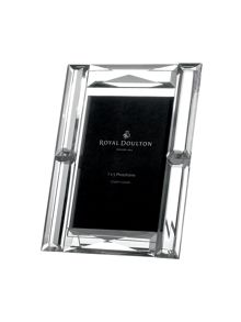 Faceted photoframe 7` x 5`