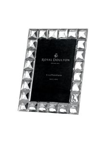 Royal Doulton Diamond photoframe 6` x 4`