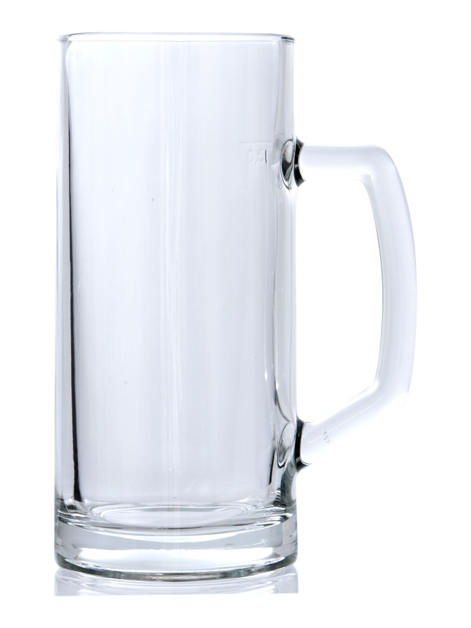 Handled beer mug
