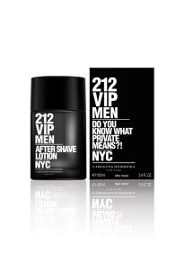 Carolina Herrera 212 VIP Men Aftershave Lotion 100ml