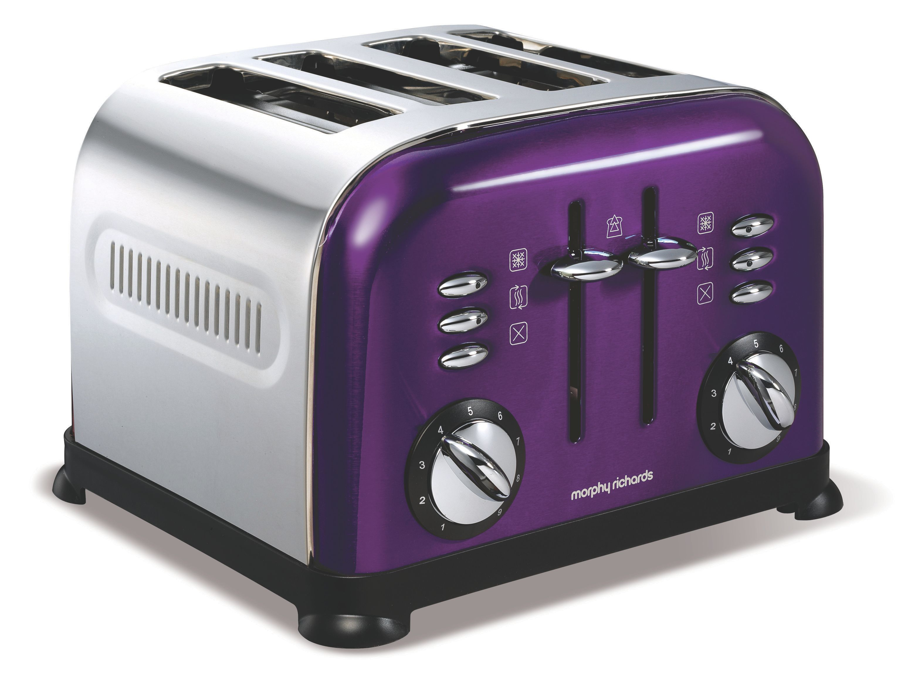 Accents 4-Slice Plum Toaster 44737