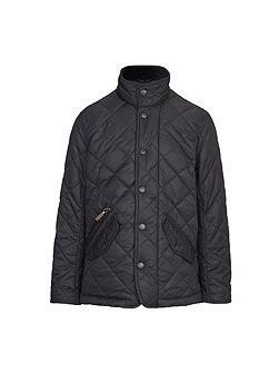 Boys classic Chelsea quilted jacket