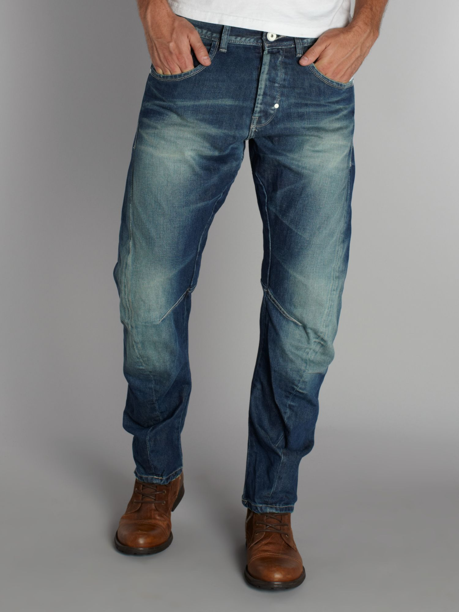 Dale road twist SC507 mid wash jeans
