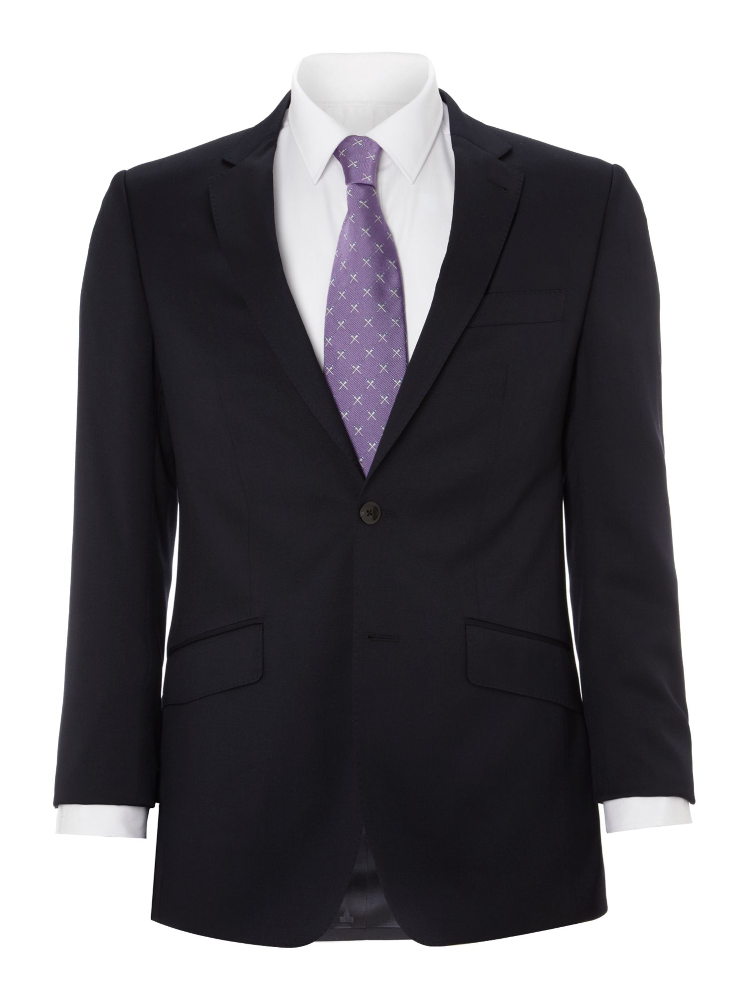 Men's Simon Carter Explorer regular fit suit jacket, Navy