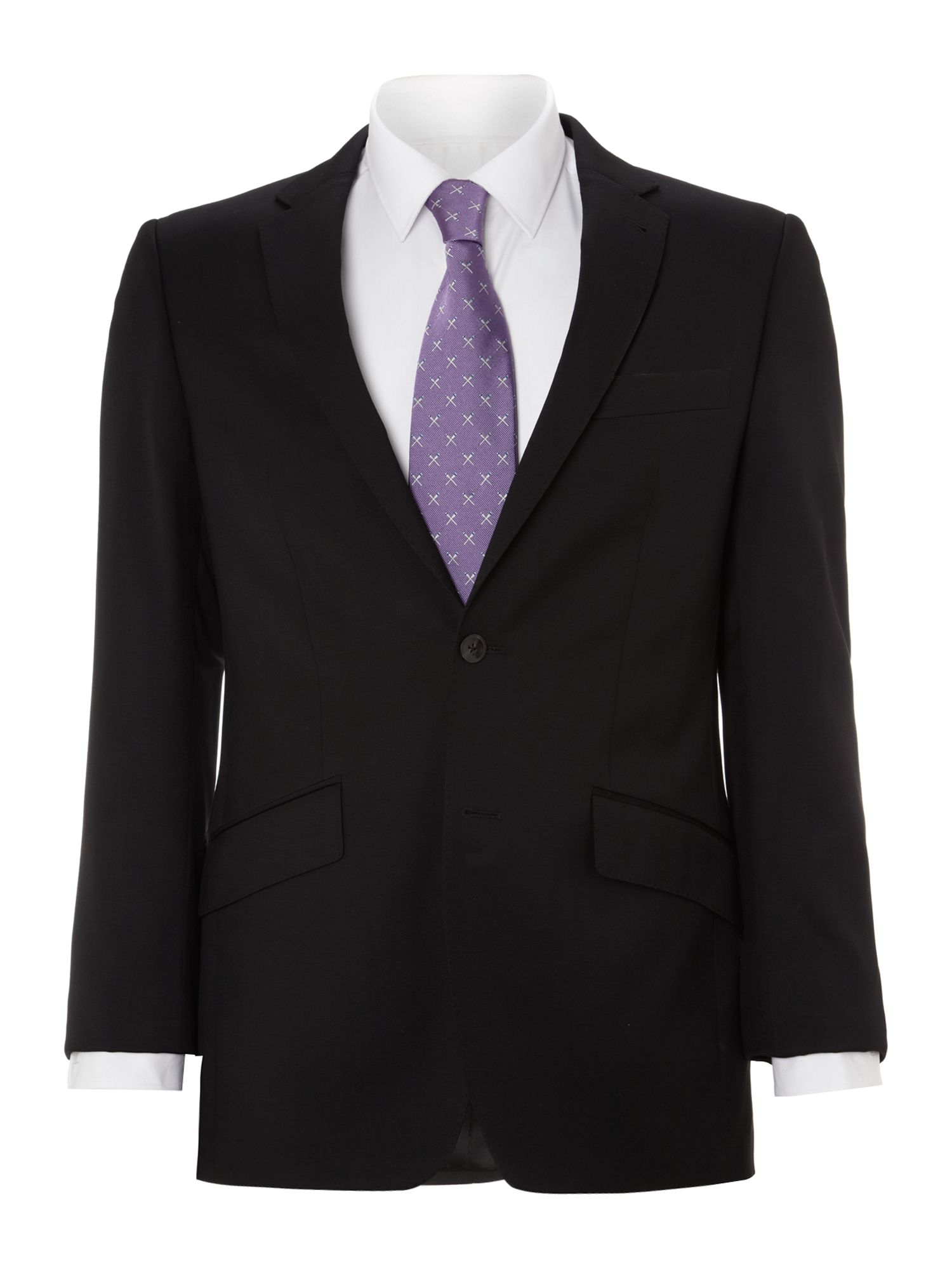 Men's Simon Carter Explorer regular fit suit jacket, Black