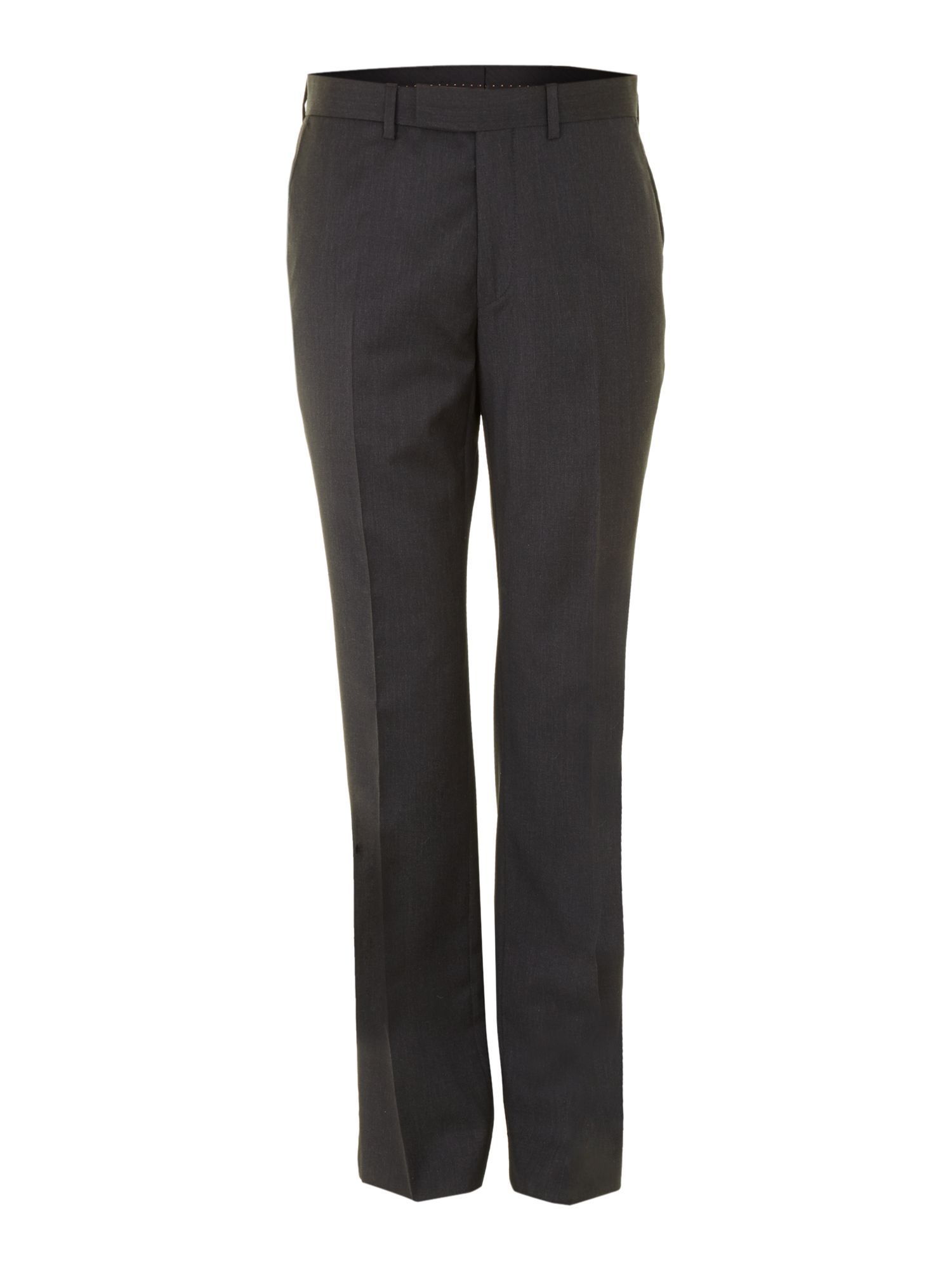 Men's Simon Carter Explorer regular fit suit trousers, Charcoal