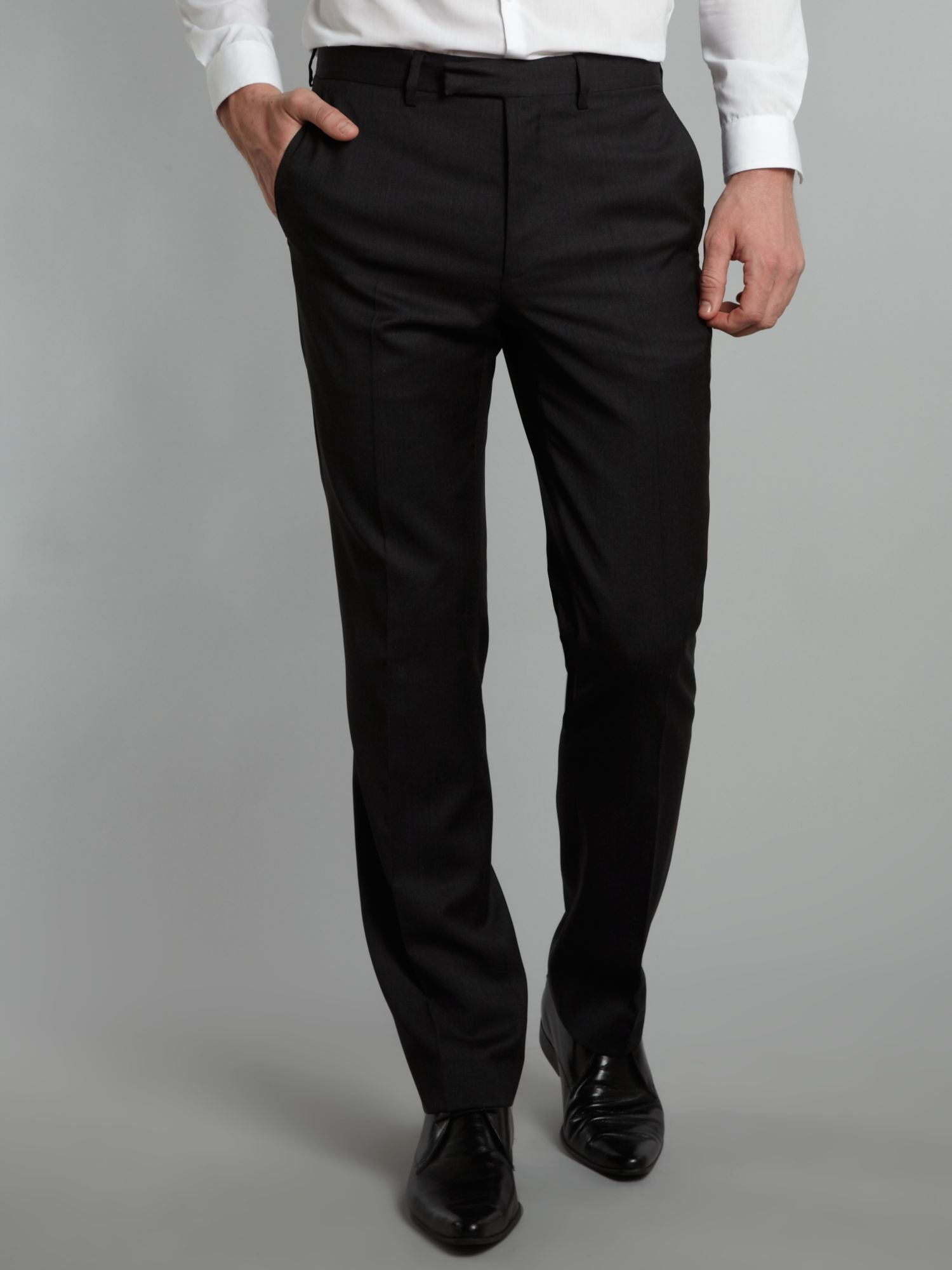 Explorer regular fit suit trousers