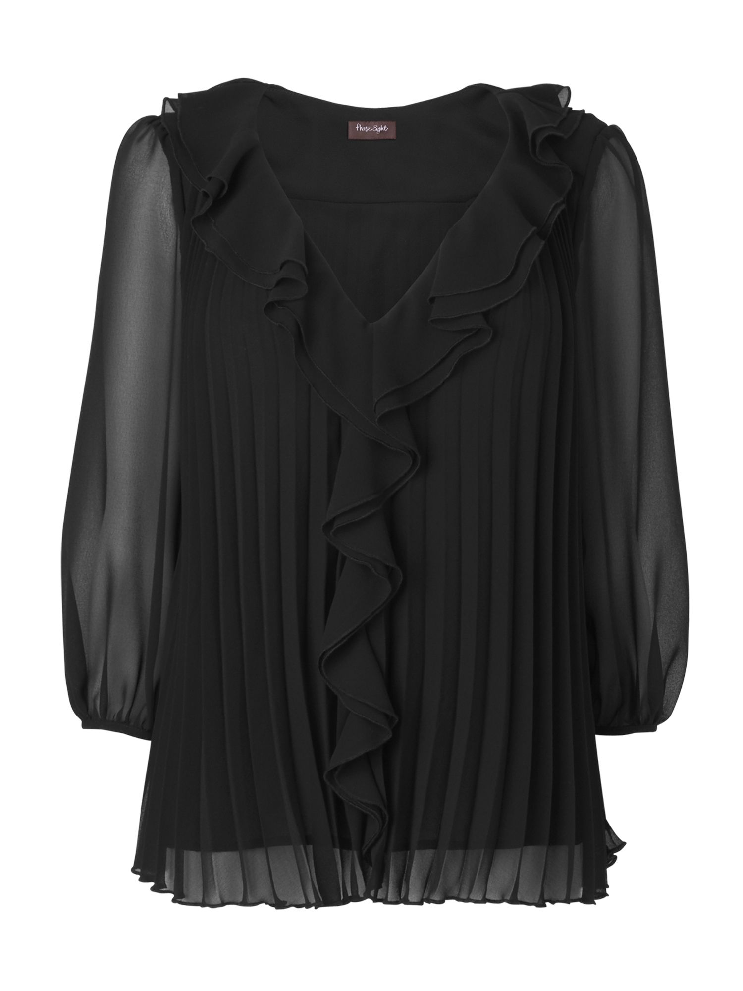 Phase Eight Womens Phase Eight Noelle pleated blouse, product image