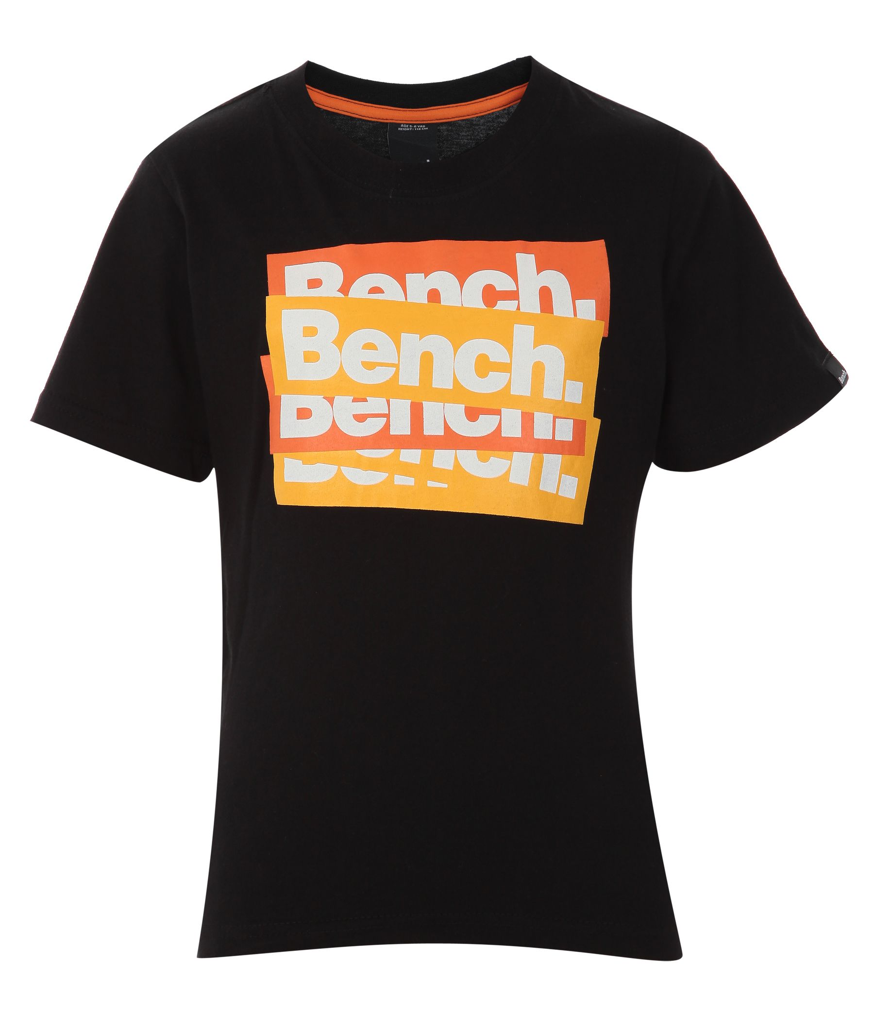 Childrens Bench New sticker T-shirt, Black