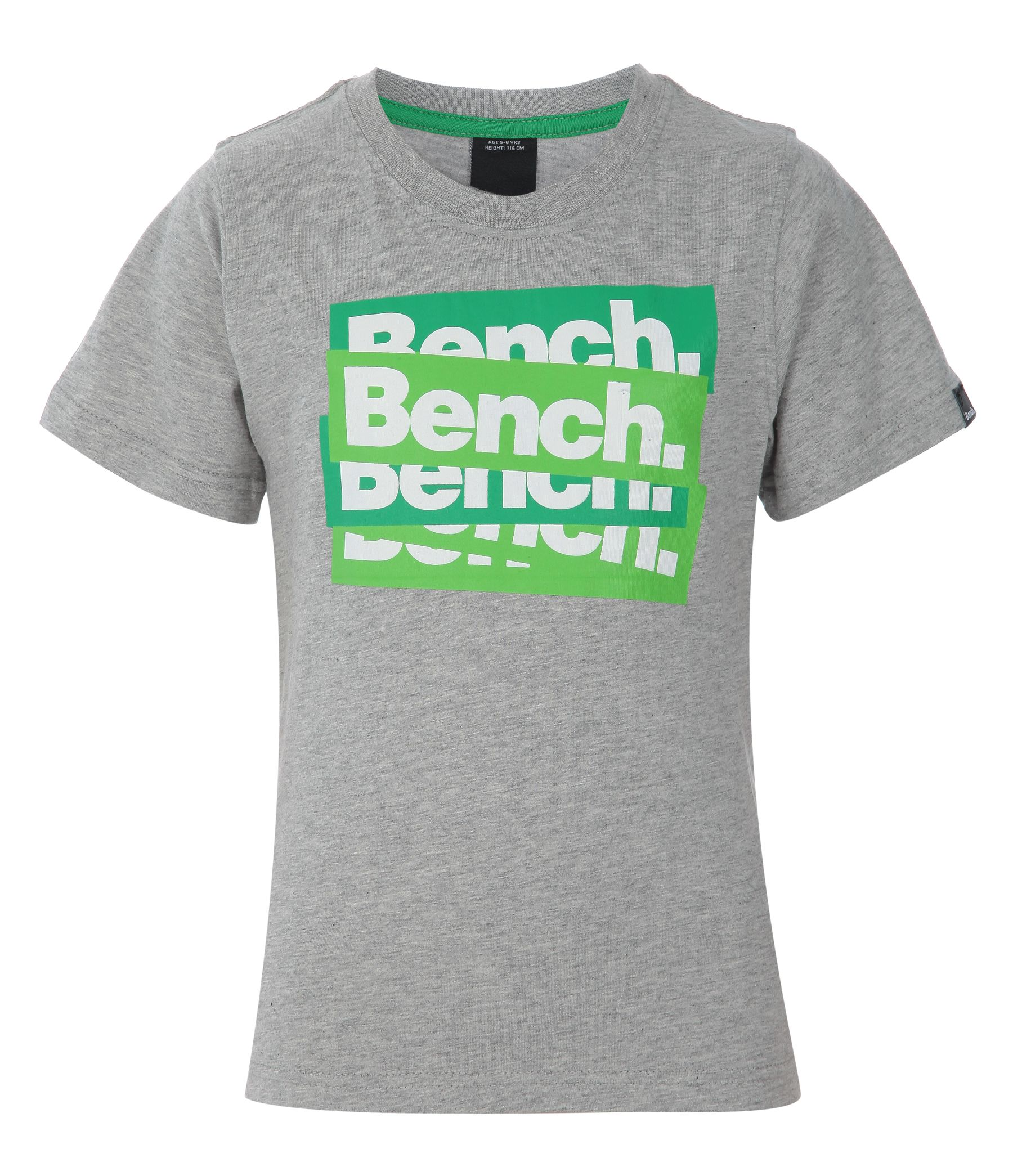Childrens Bench New sticker T-shirt, Grey