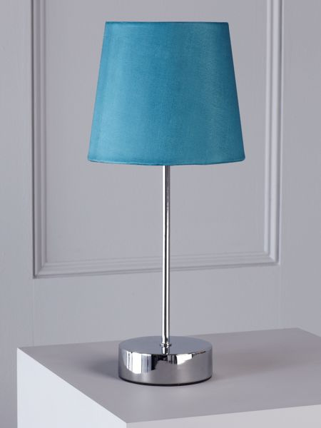 Linea Tilly teal touch lamp