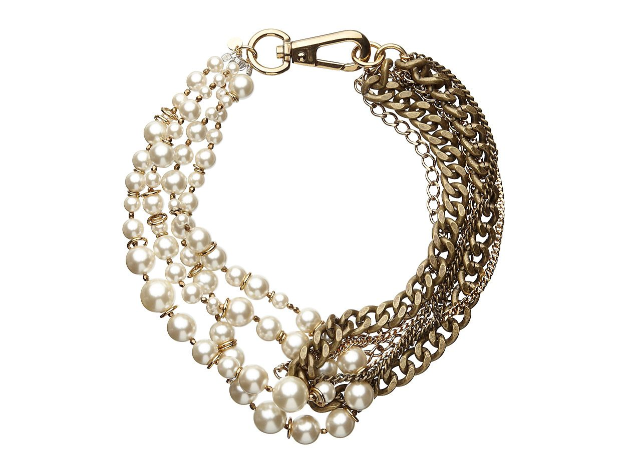 Mimco Twisted Lionheart Choker necklace