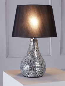 Zara black table lamp