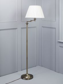 Eton floor lamp Antique Brass