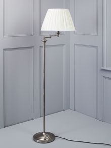 Eton floor lamp Chrome