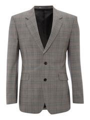 New & Lingwood Prince of wales check formal jacket