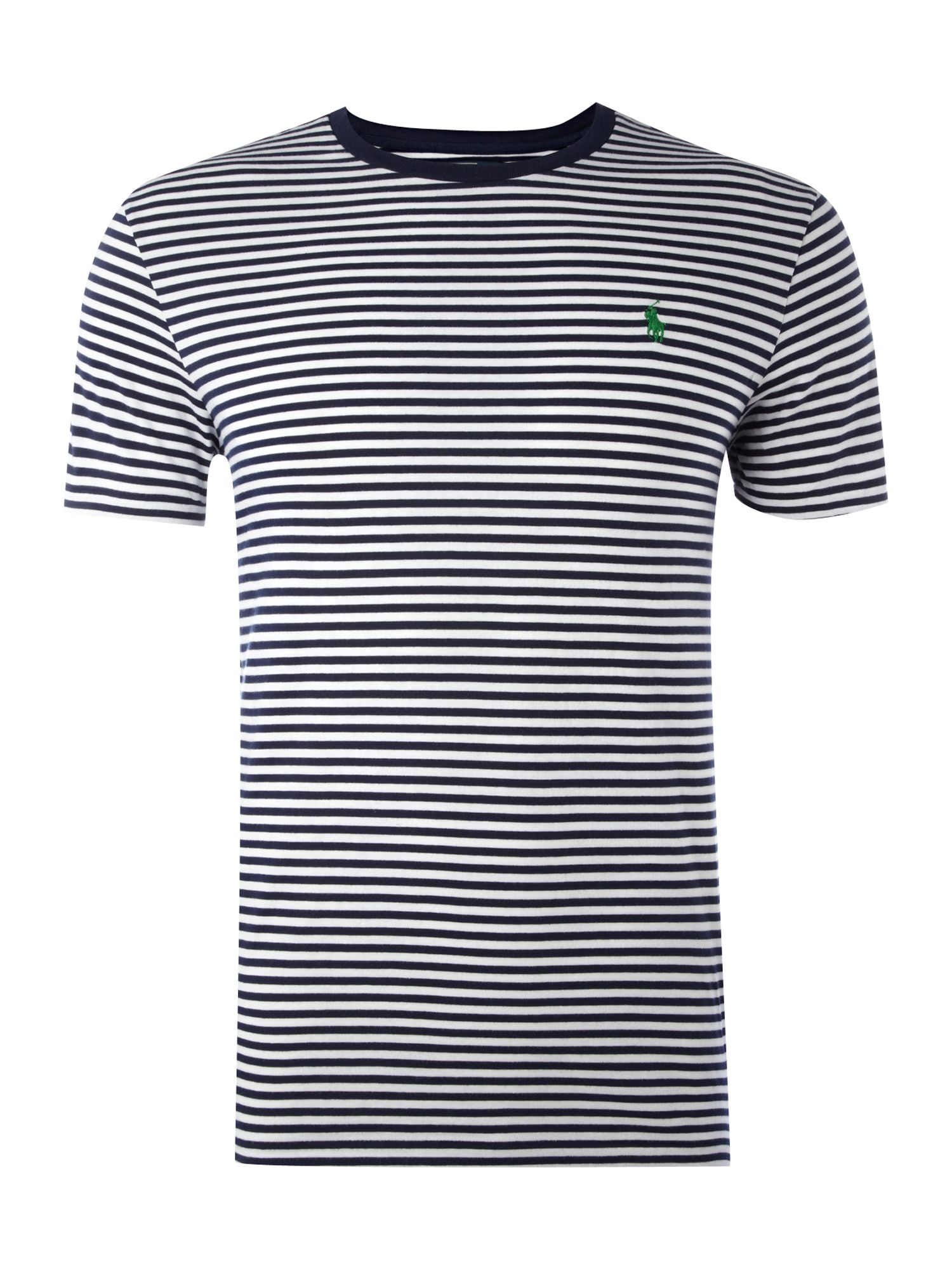Polo Ralph Lauren Mens Polo Ralph Lauren Fine stripe T-shirt, product image