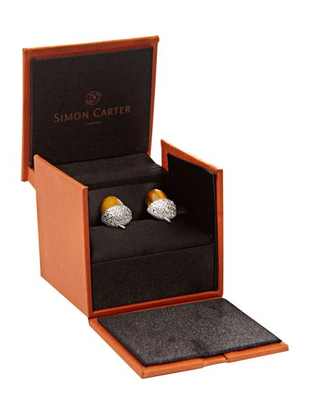 Simon Carter Acorn design cufflinks