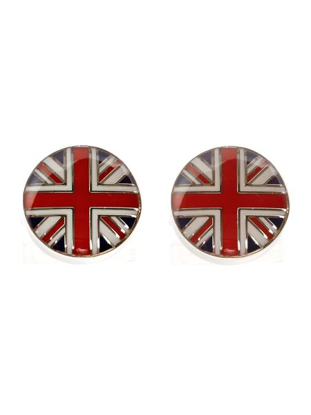 Simon Carter Union jack West end button cufflinks