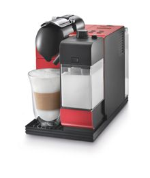 Nespresso Lattissima Plus Coffee Machine Red