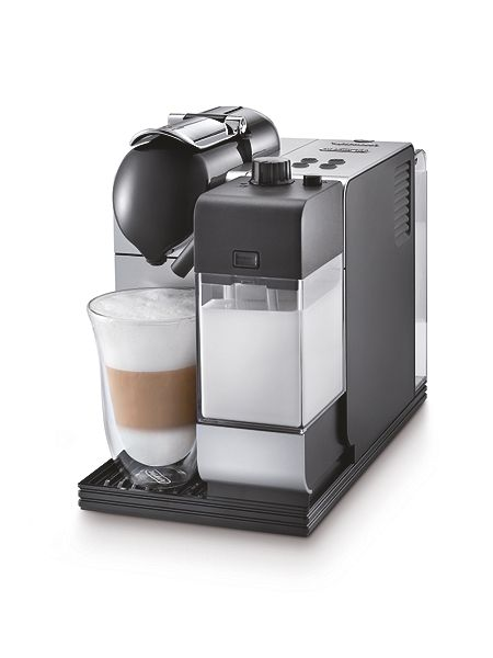 delonghi nespresso lattissima plus coffee machine silver. Black Bedroom Furniture Sets. Home Design Ideas