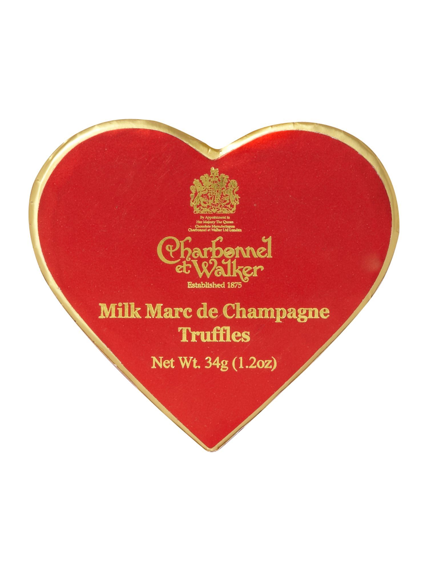 Milk chocolate Marc de Champagne truffles