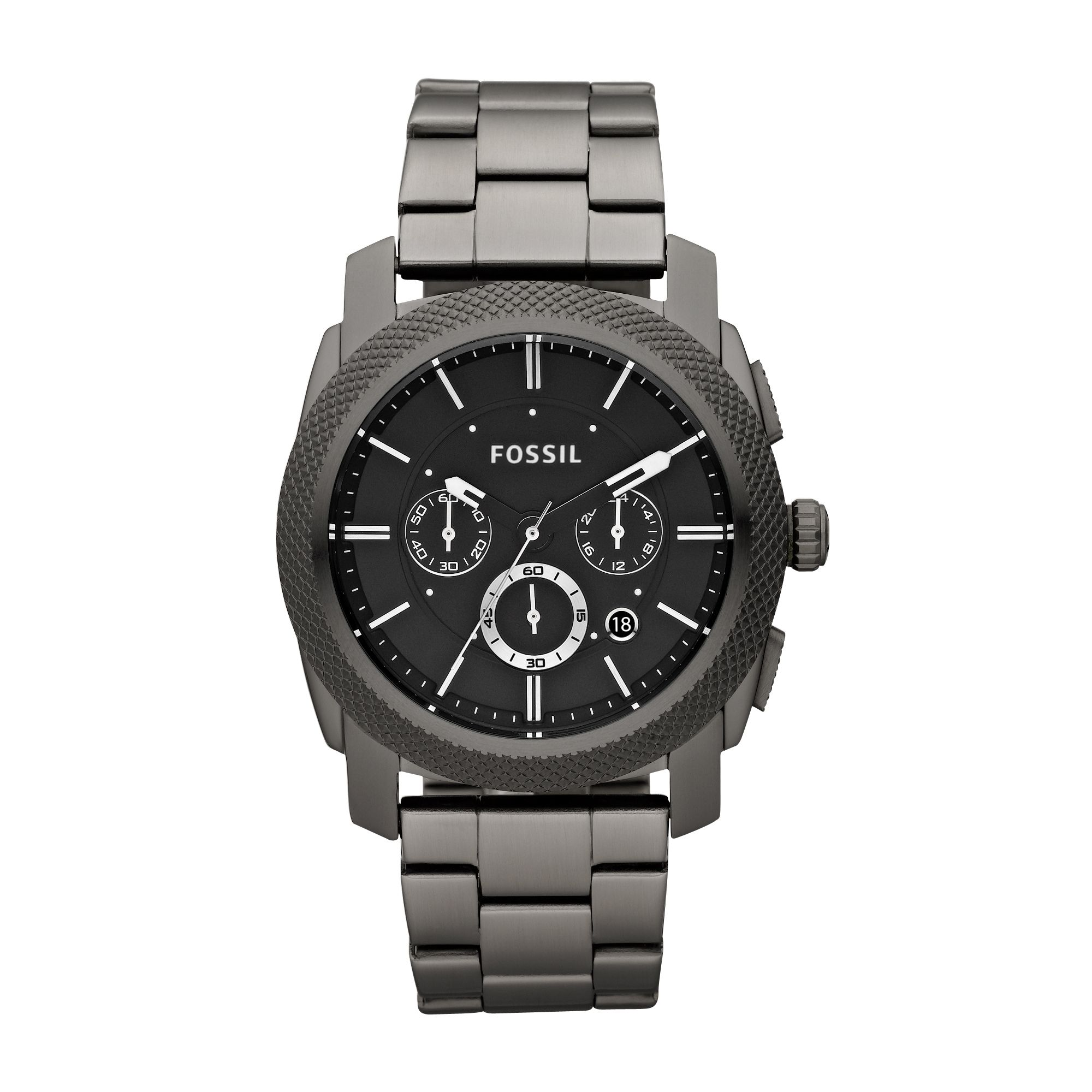 Fossil FS4662 Machine Mens Watch, Smoke 158729560 product image