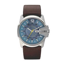 Diesel DZ1399 Master chief brown leather men`s watch