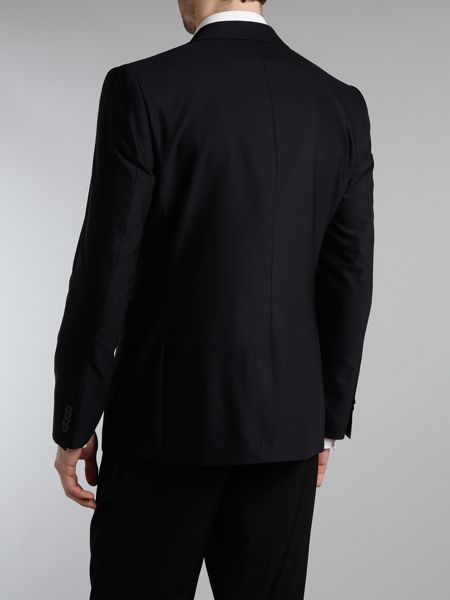 Kenneth Cole Patterson wool stretch suit jacket
