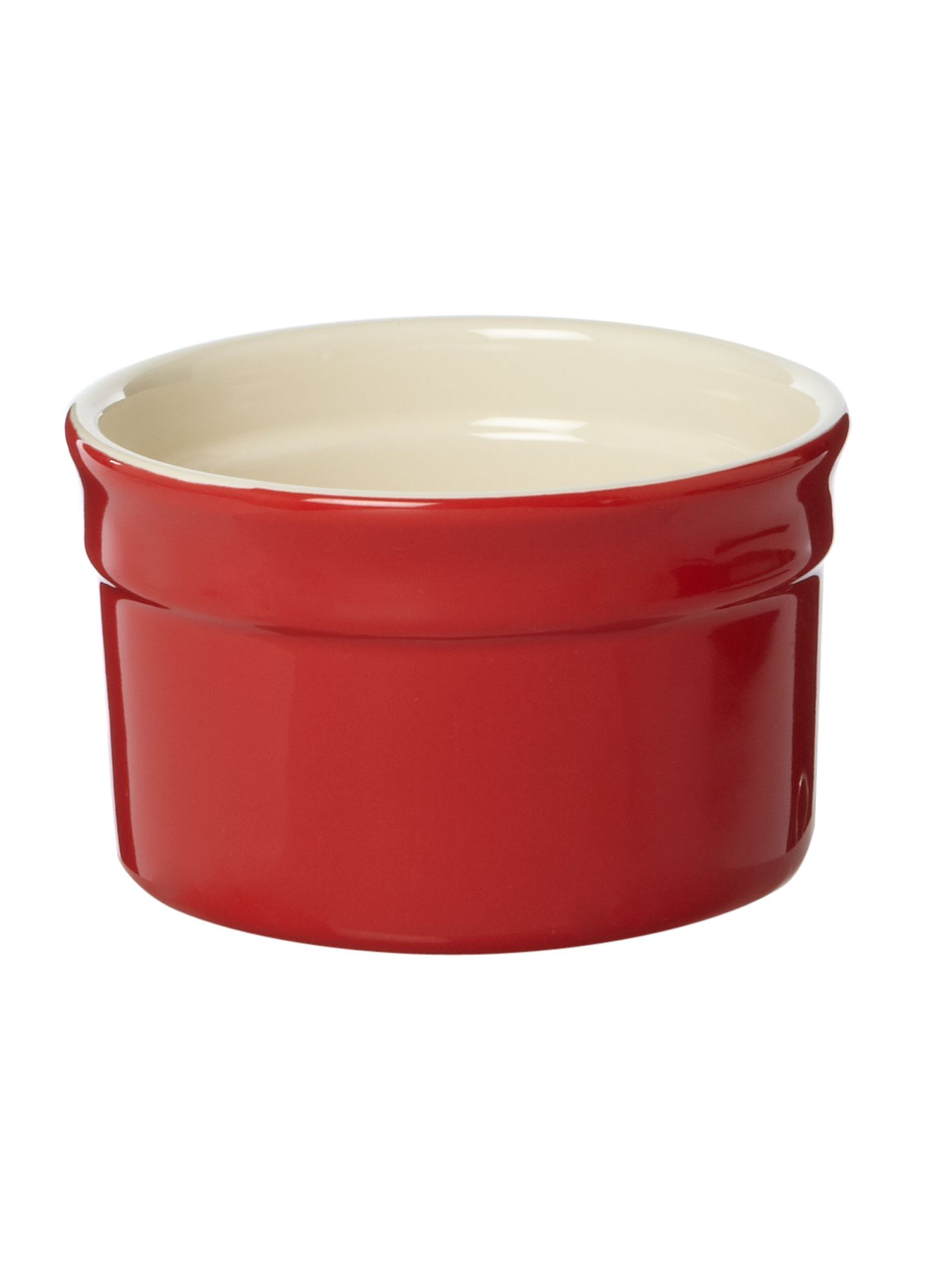 Maison ramekin, red