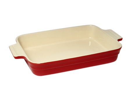 Linea Maison 32cm rectangular baker, red