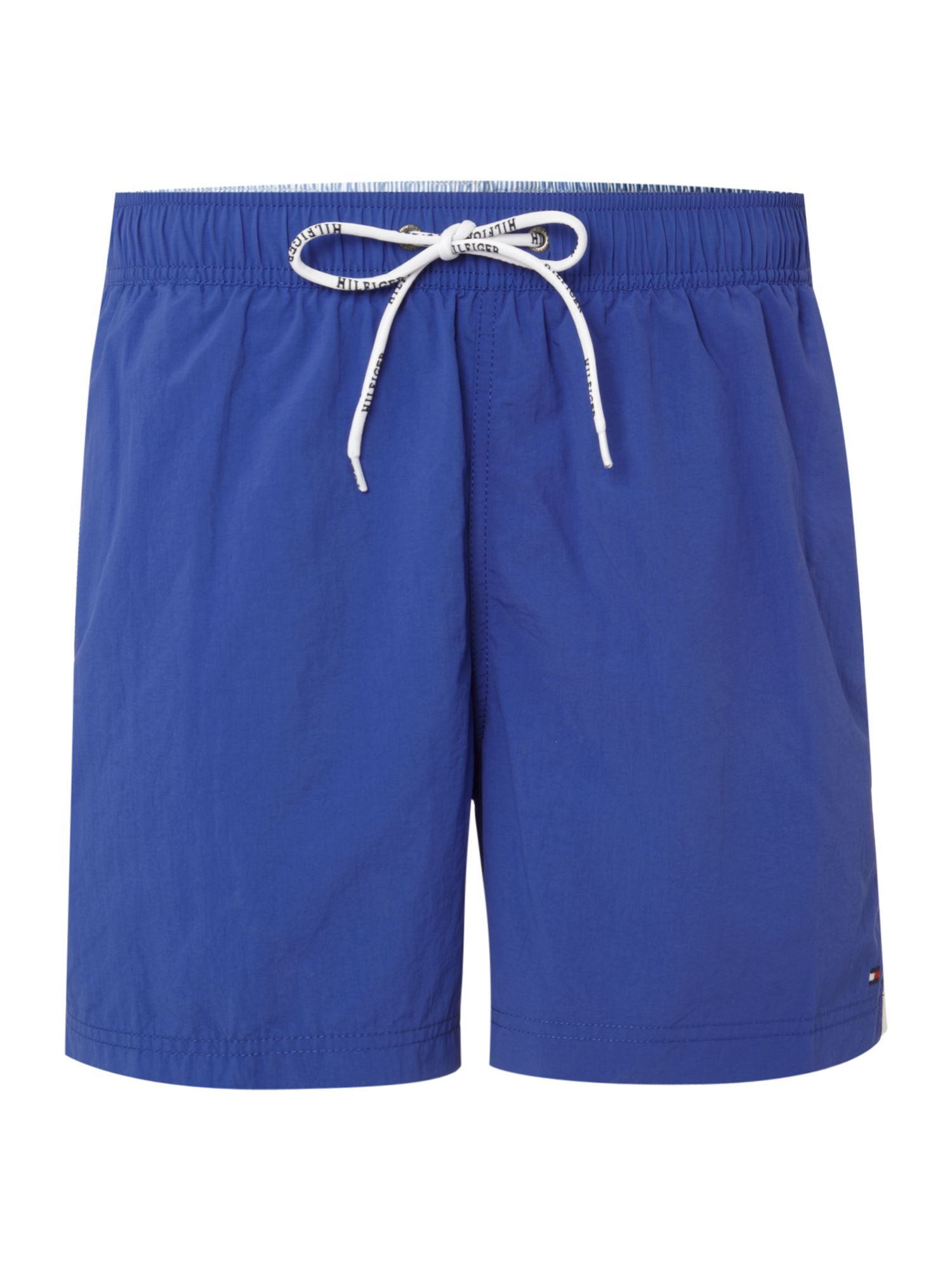 Classic swim short with side stripe