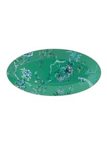 Wedgwood J.conran platinum chinoiserie oval platter
