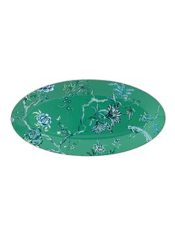 J.conran platinum chinoiserie oval platter