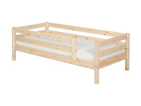 Flexa Single bed with full safety rails