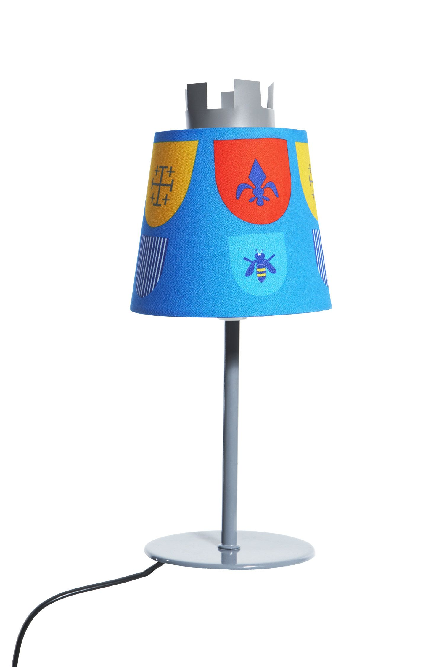 Childrens Flexa Castle Knights table lamp