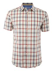 Howick Chalk house check shirt