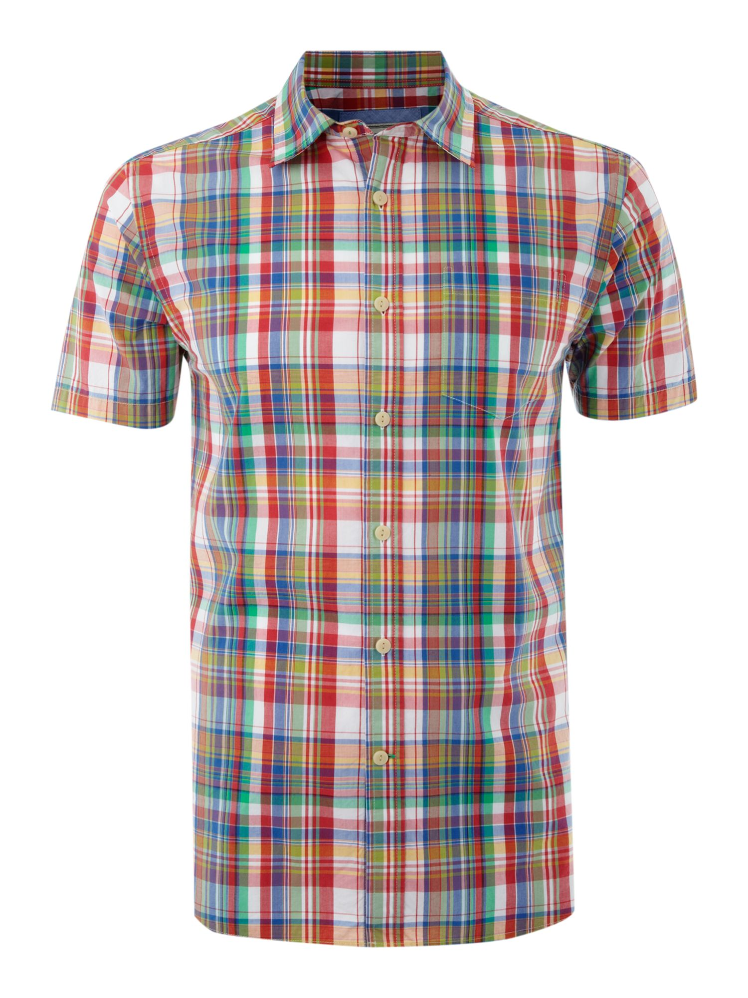 Wimbledon Check Shirt