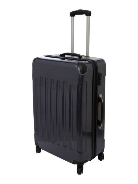 Linea Titanium Blue 72cm 4 Wheel Case